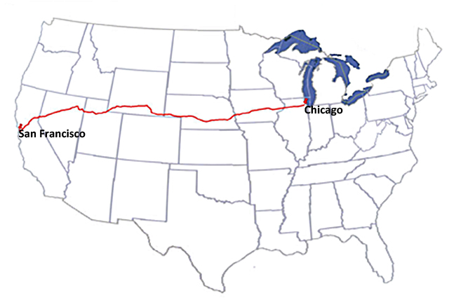 Contract Air Mail Route 18