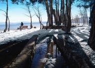 lake;-tahoe;-lake-tahoe;-winter;-snow;-shoreline;-people;-kings-beach;-north-shore;-bench