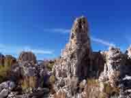 alkali;ancient-sea;calcium-cabonate;columns;lake;Mono-Basin;Mono-Lake;sagebrush;salt-water;salty;Sierra;towers;tufa;tufa-towers