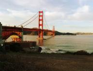 Golden;Gate;Bridge;dawn;San;Francisco;bridge;