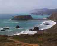 beach;California-Coast;coastal;coastline;crashing-waves;dunes;eroding-cliffs;Highway-1;hills;hillside;marine-terraces;outcrop;overlook;pacific-ocean;pounding-waves;rocks;rocky;sand;sand-dunes;scenic-beauty;sea;sea-stack;sea-stacks;seashore;surf;water;wave;white-capped-waves